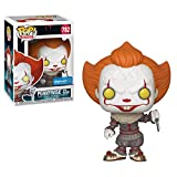 Funko- Pop. Vinyl: Movies: It: Chapter 2-Pennywise W/Blade Figura...