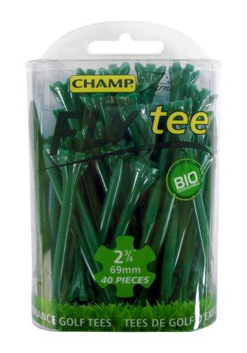 Champ FLYtee Tees de Golf 2,3/4-inch 40 Ct verde
