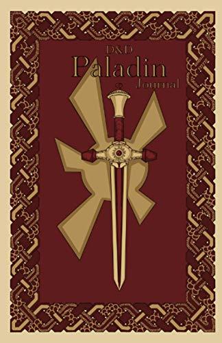 D&D Paladin Journal: Medieval journal, D&D fantasy notebook journal