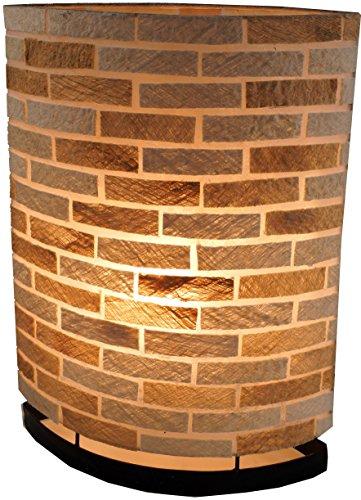 Guru-Shop Lámpara de Mesa/lámpara de Mesa, Hecha a Mano en