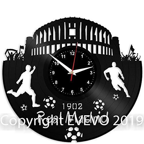REAL MADRID Reloj De Pared Vintage Accesorios De Decoración del Hogar Diseño...