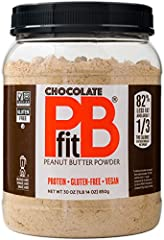 SAME GREAT TASTE: PBfit All-Natural Chocolate Peanut Butter Powder uses premium cocoa to give you the chocolate you crave & the protein you need. It beats hazelnut & chocolate nut spreads with 82% less fat & 1/3 the calories of other chocolate nut sp...