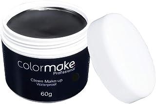 Clown Makeup Profissional 60G, Colormake, Preto