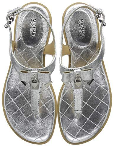 Michael Kors Alice, Chaussures de Mariage Femme, Gris argenté 040, 35 EU