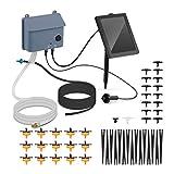 Hillvert HT-COSTIGAN-3600 Solar-Bewässerungssystem Solar-Bewässerungsset automatische Bewässerung Solar