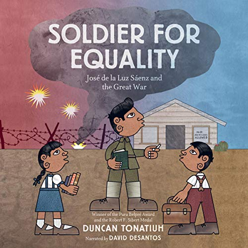 Soldier for Equality audiobook cover art