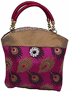 Kuber Industries Women's Cotton Handbag, Multicolour (KI0057)