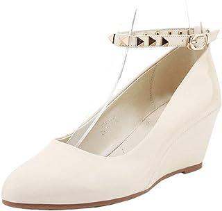 ELEEMEE Women Fashion Wedge Heels Pumps Shoes