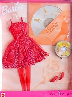 """BARBIE FASHION AVENUE Fashions MOVIN' to MUSIC """"SALSA"""" w Fashions & DVD (2000)"""