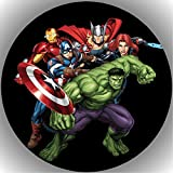 Fondant Tortenaufleger Tortenbild Geburtstag The Avengers T13