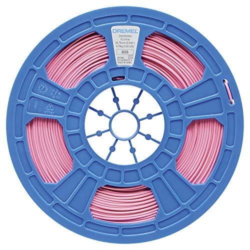 Dremel 2615PL04JA Filamento PLA per Stampanti 3D, 750 g, Rosa