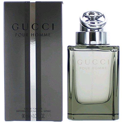 Gucci for Men Eau de Toilette Spray, 3 Ounce