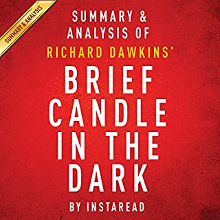 Brief Candle in the Dark: My Life in Science, by Richard Dawkins cover art