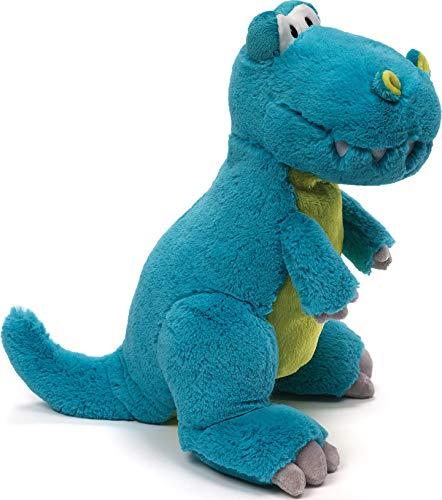 "GUND Rexie T-Rex Dinosaur Stuffed Animal Plush, Blue, 13.5"""