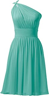 Chiffon Bridesmaid Dresses Short Prom Party Dress Evening Gown