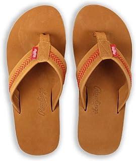 Rawlings Men's Baseball Stitch Nubuck Leather Sandals RF50000-204
