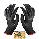 FX Garden Gloves with Claws, Home Gardening Genie Gloves for Easy to Dig and Plant Nursery Plants,Best Gift for Gardener