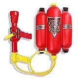 Schramm Wasserspritze Feuerwehrspritze mit Rückentank Wasserpistole Feuerlöscher Wasser Pistole...