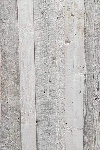 Barnwood Wandholz Whitewash, Wandverkleidung aus Holz in 3D-Optik, 0,8 m2 - 7