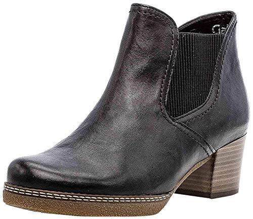 Gabor Damen Chelsea Boots 36.661, Frauen Stiefelette,Stiefel,Halbstiefel,Bootie,Schlupfstiefel,hoch,Ocean (S.n/Micro),39 EU / 6 UK