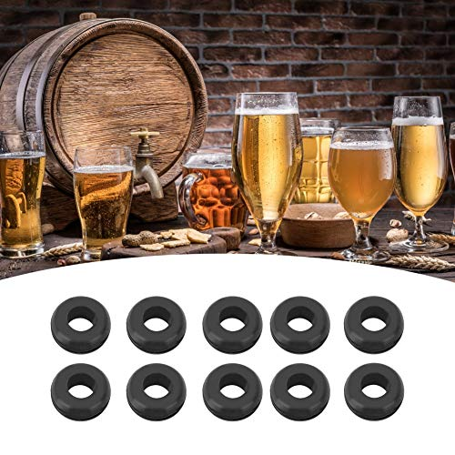 Anillo de Ojal Airlock para Tapa de fermentador, Accesorios para Herramientas de elaboración de Cerveza, Material Duradero, Mano de Obra estándar para el hogar