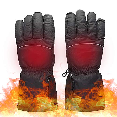 Lixada Heated Gloves Batter-y Powered Operated Thermal Gloves Hand Warmer Gloves for Outdoor Activities Climbing Skiing Hiking Cycling Adult Gift...