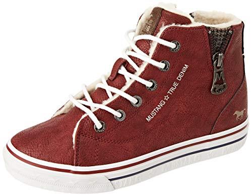 MUSTANG Mädchen 5056-604-5 Sneaker, rot,37 EU