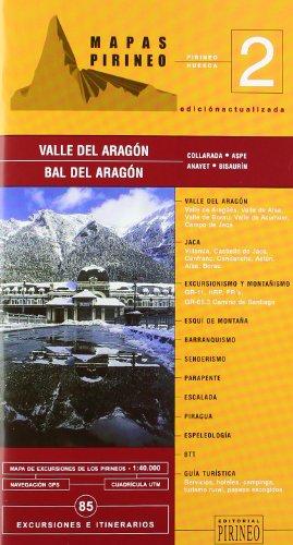 Valle de Aragón (guia + mapa) (Cartas Pirineo)
