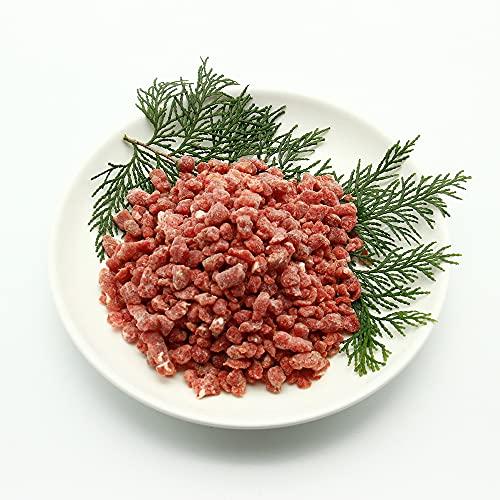 鹿肉(犬用・猫用)パラパラミンチ 500g 赤身肉 ヘルシー シカ肉 おやつ ドックフード【クール冷凍便】