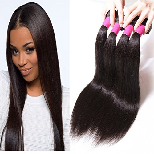 Brésilien Ombre Défrise trame 3 trames tissage 100% cheveux humains Extensions 95–100 g/pc (18 20 22 T1B/4/27)