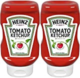 Heinz Classic Squeeze Bottles Ketchup, 14 Oz Bottle, Pack of Two