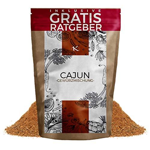 Cajun Gewürz gemahlen 250g | Gewürzmischung scharf für Jambalaya & Gumbo inkl. gratis Ratgeber | Gewürzspezialität aus Cajun-Küche USA spice seasoning