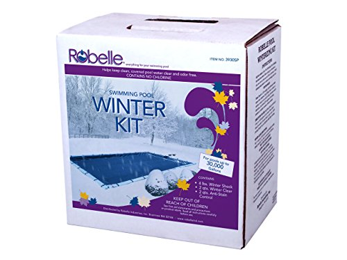 Robelle 3930SP 30,000 Swimming Pool Winter Chemical Kit, Gallons