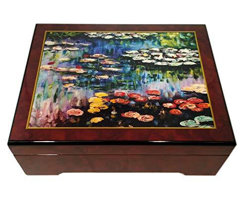 The San Francisco Music Box Company Monet Water Lilies Music Box