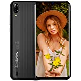 Blackview A60 Smartphone Dual SIM con Pantalla 6.1' (15.7cm) Water-Drop Screen, 13MP+2MP+5MP, 16GB ROM (SD 128GB), 4080mAh Batería Smartphone Libre, Android 8.1 Telefono Movil, GPS/WiFi-Negro