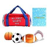 Bébé Sac De Sport Enfant Jouant Au Ballon Ensembles avec Basketball Baseball Football Football En Peluche Balle Jouet Cadeau pour Enfants