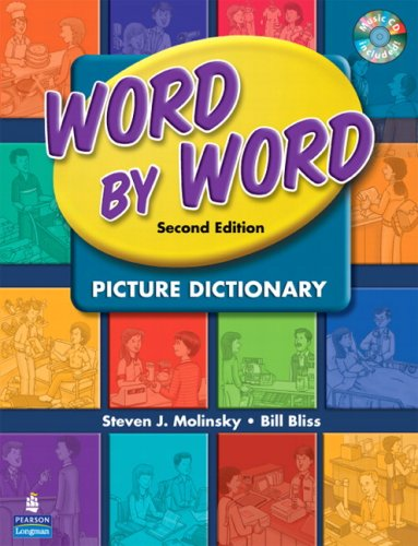 Word by Word Picture Dictionary with WordSongs Music CD...