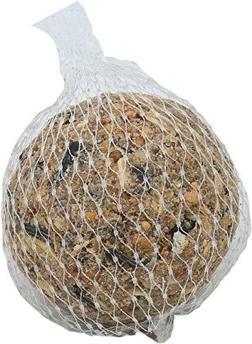Pfiffikus Meisenknödel mit Netz 100 Stück im Karton | Vogelfutter mit Insekten, Beeren, uvm. | Hochwertiges, energiereiches Wildvogelfutter zur Ganzjahresfütterung heimischer Vögel | Made in Germany