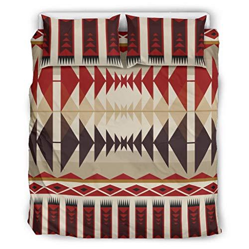 Haythan Juego de ropa de cama de 3 piezas, suave – Juego de ropa de cama de 3 piezas con funda de edredón y 2 fundas de almohada Shams para cama King Size White 168 x 229 cm