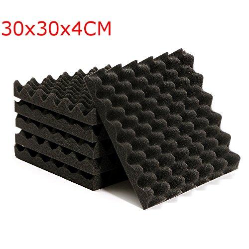 EsportsMJJ 6X 30X30X4Cm geluidsdempende driehoek geluidsdempende schuim tegels