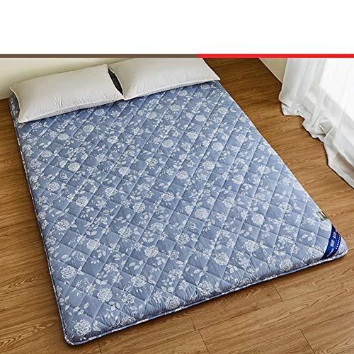 JINDSMART Schlafende Tatami Bodenmatte, japanische Bodenmatratze Futon Matratze, Shiki Futon, Faltbare Matratze, Meditationsraum Zen Room Full Size Matratze