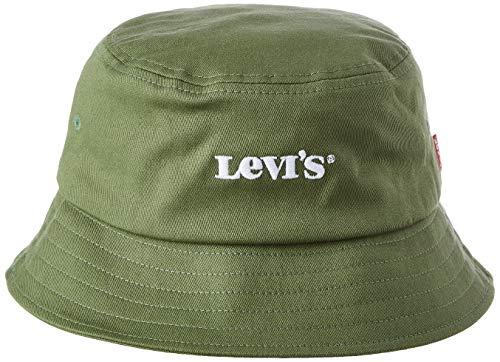 Levi's Bucket Hat-Vintage Modern Logo Sombrero de Copa Baja, Palo Verde, S para Hombre
