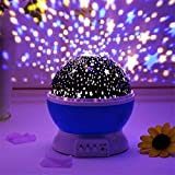 ➤ Star Projector Night Lighting - The baby room decor light is not only give your child universal Astronomical Science and enhance the capacity of good assistants hands,but also give your couple to create a romantic surprise ➤ Romantic cosmos star ni...