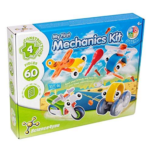 Science4you-Mi Mi primer kit de mecánica, juguete educativo y cientifico,...
