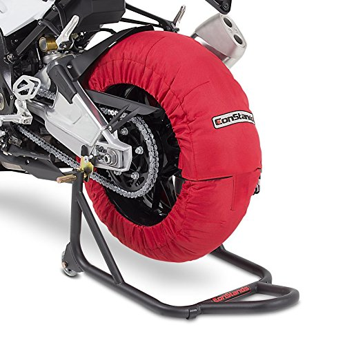 Couverture chauffante Pneu Set 60-80 C Rouge pour Honda CBR 1000 RR Fireblade/SP/SP-2