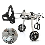 Anmas Home Adjustable Pet Dog Wheelchair for Back Leg Rehabilitaion