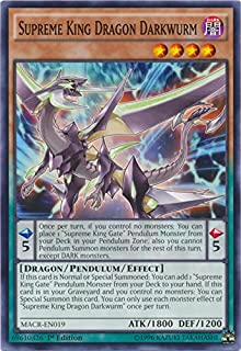 Supreme King Dragon Darkwurm - MACR-EN019 - Common - 1st Edition - Maximum Crisis (1st Edition)