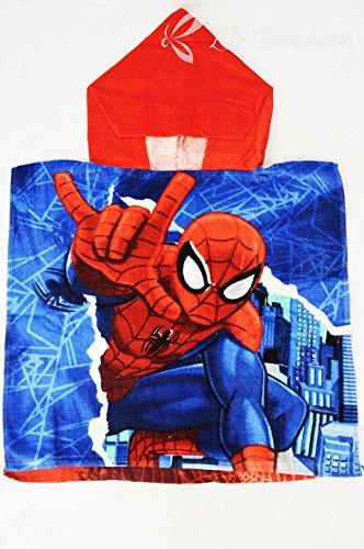 R.P. Badponcho van badstof badjas Bimbo Spiderman Marvel