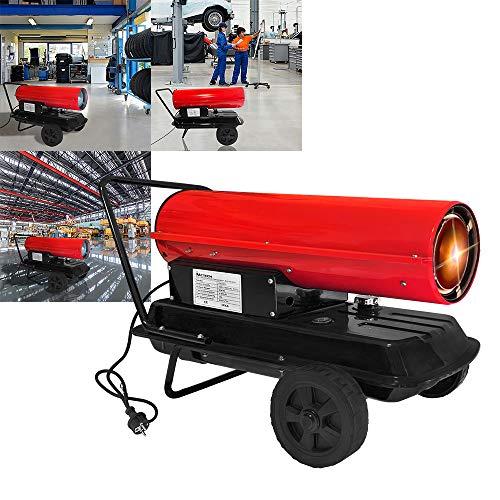 Heizkanone Heizgerät Bauheizer Ölheizer Dieselheizer Bautrockner Kamin 30kW