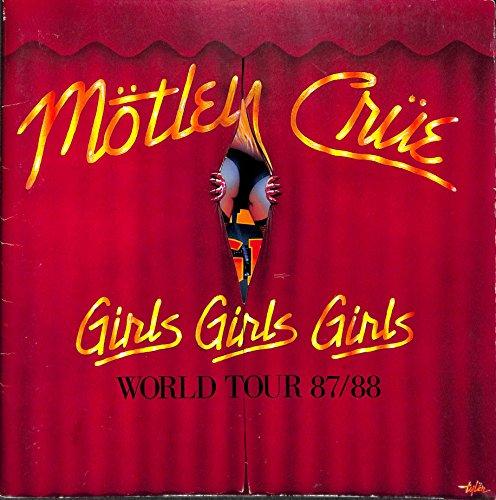モトリー・クルー 日本公演 MOTLEY CRUE WORLD TOUR87/88[コンサートパンフレット]
